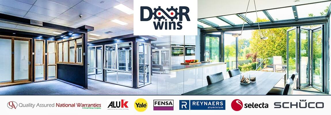multiple double glazing suppliers & manufacturers logos