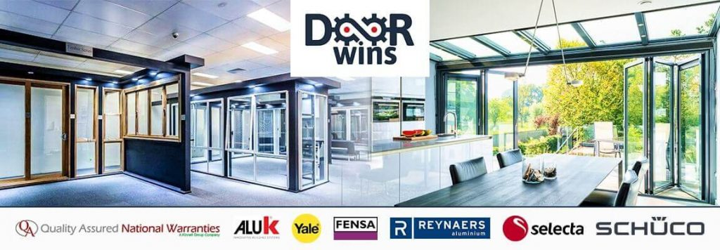 aluminium windows and doors trusted logo