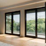 2 PANEL DOUBLE SLIDING DOOR