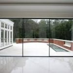 replacement Slim frame double glazed sliding doors