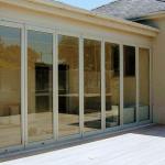 replacement glazed unit, a 7 pane bifold doors