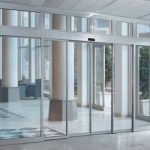 Commercial sldiding doors