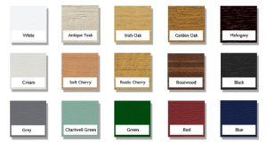 UPVC COLOURS
