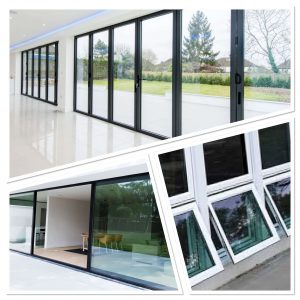 aluminium doors and aluminium windows on london homes