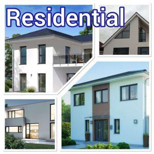 popular residential aluminium windows and doors