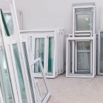 Multiple double glazing units freshly manufactured in Doorwins London Warehouse