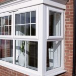 UPVC 4 pane Bay window installed on a north London Home