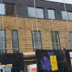School picture of greuy aluminium windows