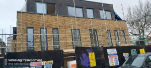 14 aluminium windows manufactured and fitted on a school in barnet