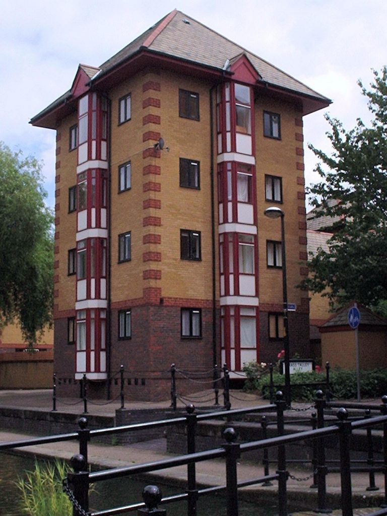 aluminium doors and upvc black windows on a 12 apartment block by doorwins in marylebone westminster london